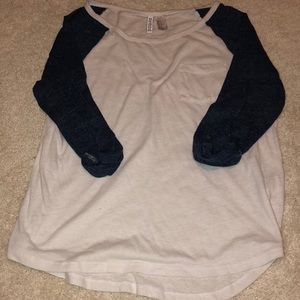 Divided H&M Baseball Tee